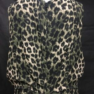 Apt. 9 Dresses - Dress Leopard Skin Design Lined size 18 Plus..